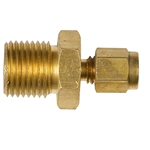 Brass Male Connectors Metric
