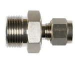 Stainless Steel Male Connectors Metric